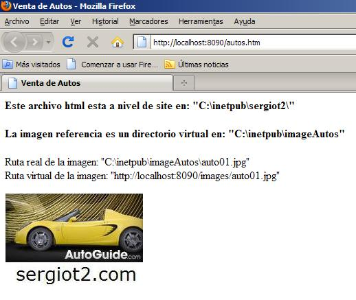 Web Site Sample - sergiot2.com