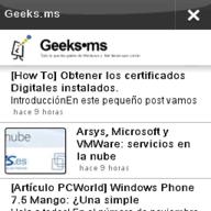 Geeks.ms en OviStore